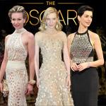 Najlepšie šaty z Oscarov 2014 – veľká fotogaléria plná prekvapení z červeného koberca!