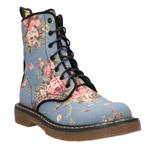 Jarné šnurovacie topánky CCC zdobia retro kvetinové vzory!