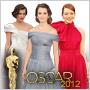 Vieme, kto si obliekol najlepšie šaty na Oscars 2012!