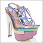 Pastelové farby a osobitná platforma Versace osvieži každý botník!