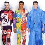 Nudná pánska móda končí – v Londýne sa návrhári predvádzali v šialenostiach!