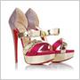 Zlato-ružový luxus remienkových sandálov Christiana Louboutina prevetrá vašu peňaženku!