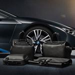 Louis Vuitton vytvoril na mieru šitú batožinu pre BMW i8 – je vyrobená z karbónových vlákien rovnako ako i8!