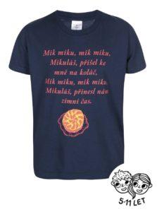 Modré detské tričko ZOOT Kids Básnička