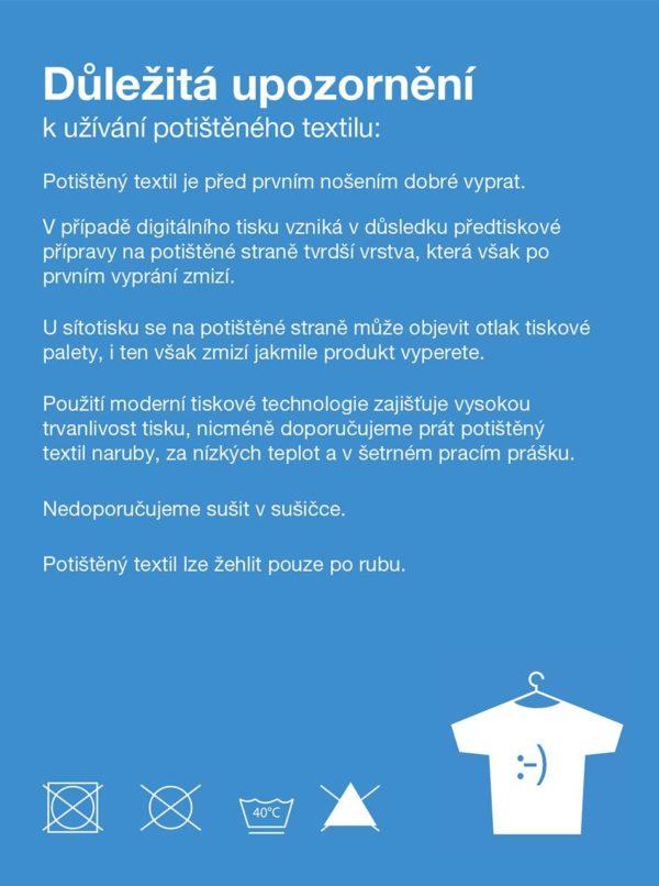 """""""Dobré"""" krémové dámske tričko pre Paraple"""