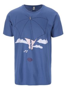 """""""Dobré"""" modré pánske tričko pre Paraple"""