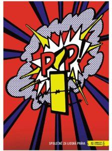 """""""Dobrý"""" plagát Pop pre Amnesty International"""
