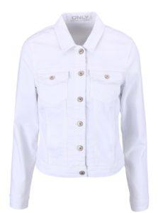 Biela rifľová bunda ONLY New