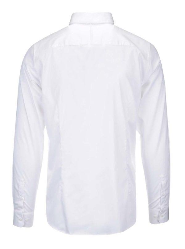 Biela formálna slim fit košeľa Selected Homme Done