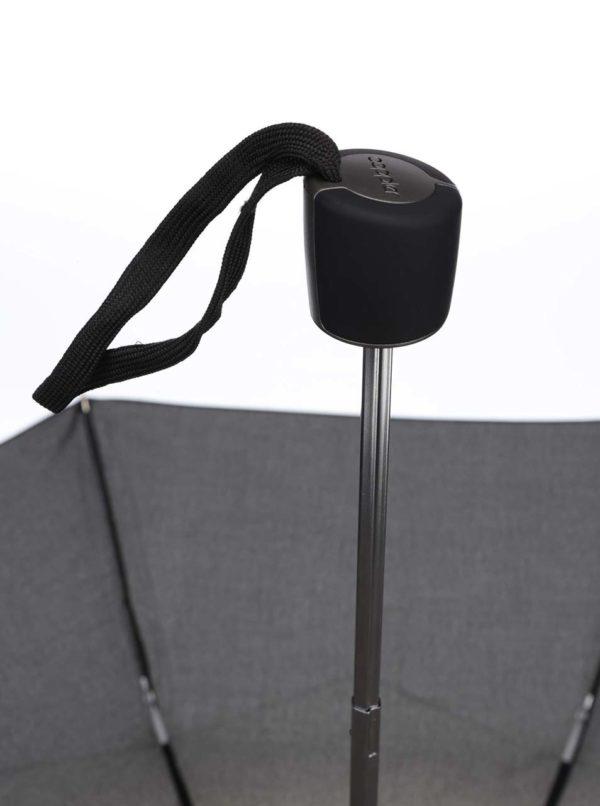 Čierny pánsky skladací dáždnik Doppler