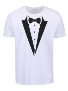Biele pánske tričko ZOOT Originál - Ženích