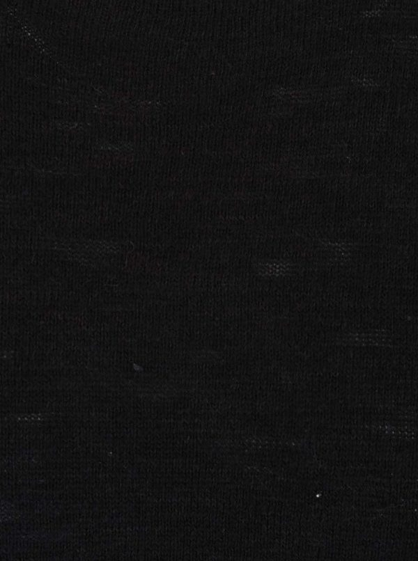 Čierny sveter Jack & Jones Slub