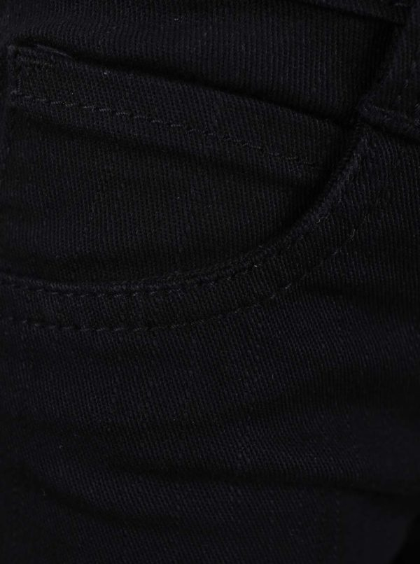 Čierne chlapčenské nohavice Blue Seven
