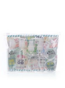 Súprava cestovných fľaštičiek CGB