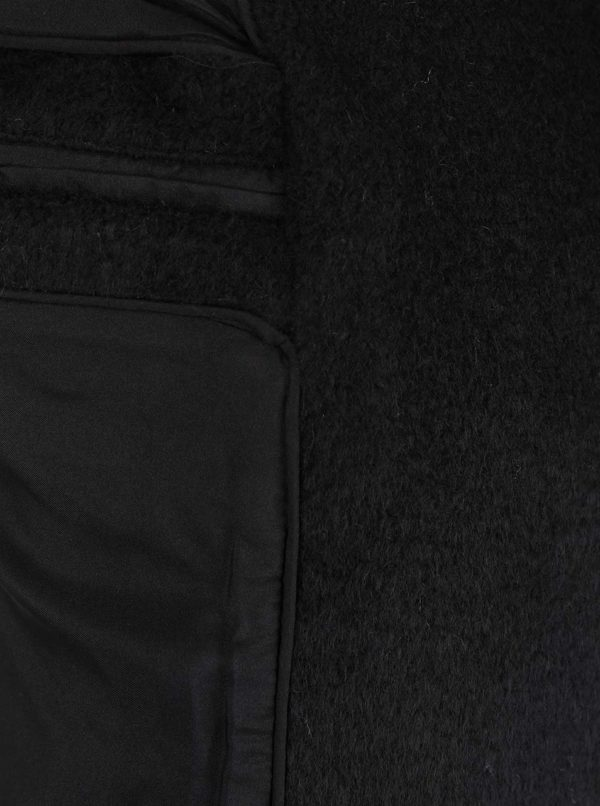 Čierny kratší kabát VILA