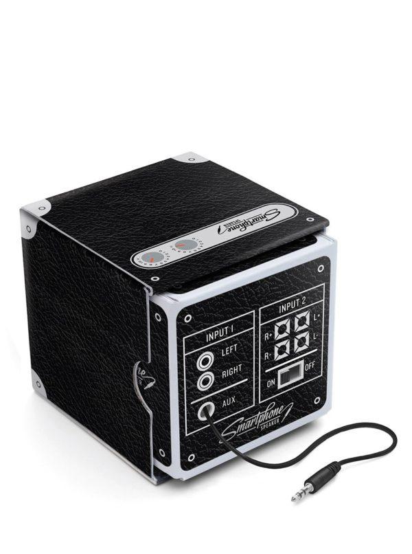 Čierny reproduktor k smartphonu Luckies