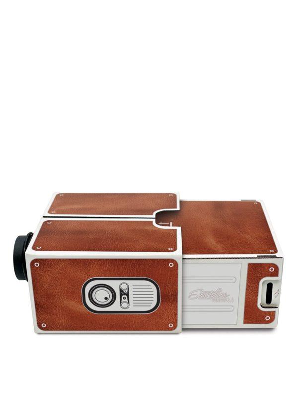 Hnedý projektor k smartphonu Luckies