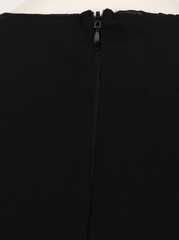 Čierne šaty s čipkou AX Paris  dad7c93d827