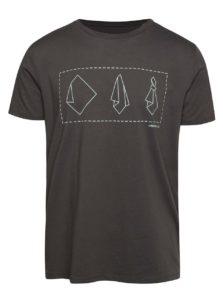 """""""Dobré"""" sivé pánske tričko s potlačou Mamma HELP"""