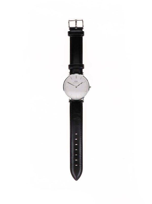 Dámske hodinky v striebornej farbe CLASSIC Sheffield Daniel Wellington