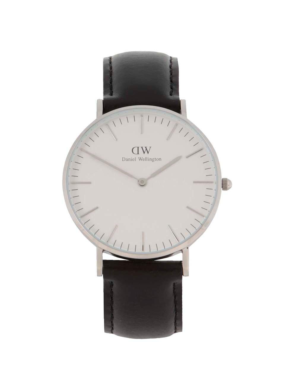 Dámske hodinky v striebornej farbe CLASSIC Sheffield Daniel Wellington 3dd1b085887