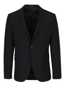 Čierne oblekové sako Selected Homme Newone