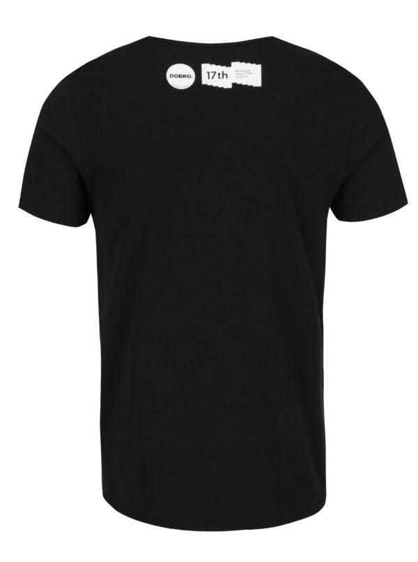 """""""Dobré"""" čierne unisex tričko pre Mezipatra"""