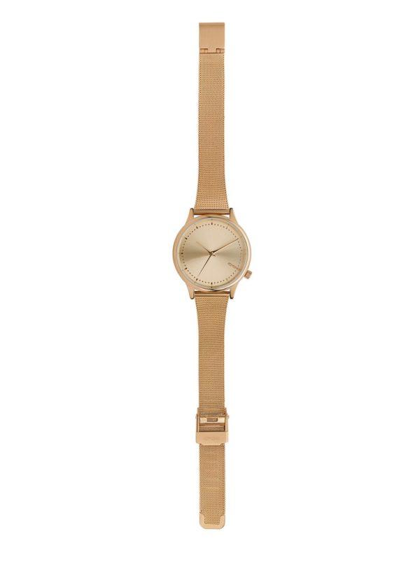Dámske hodinky v ružovozlatej farbe s kovovým remienkom Komono Estella Royale