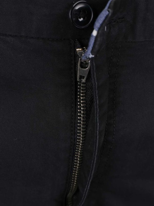 Čierne chino nohavice Jack & Jones Marco