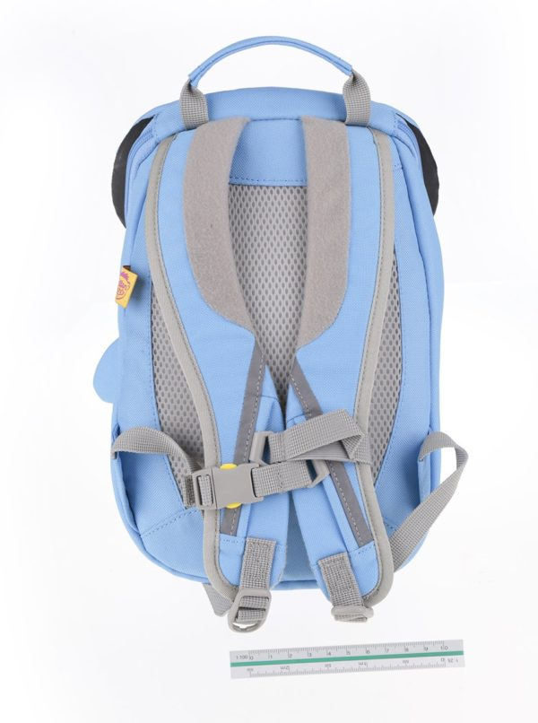 Bielo-modrý batoh v tvare delfína Affenzahn