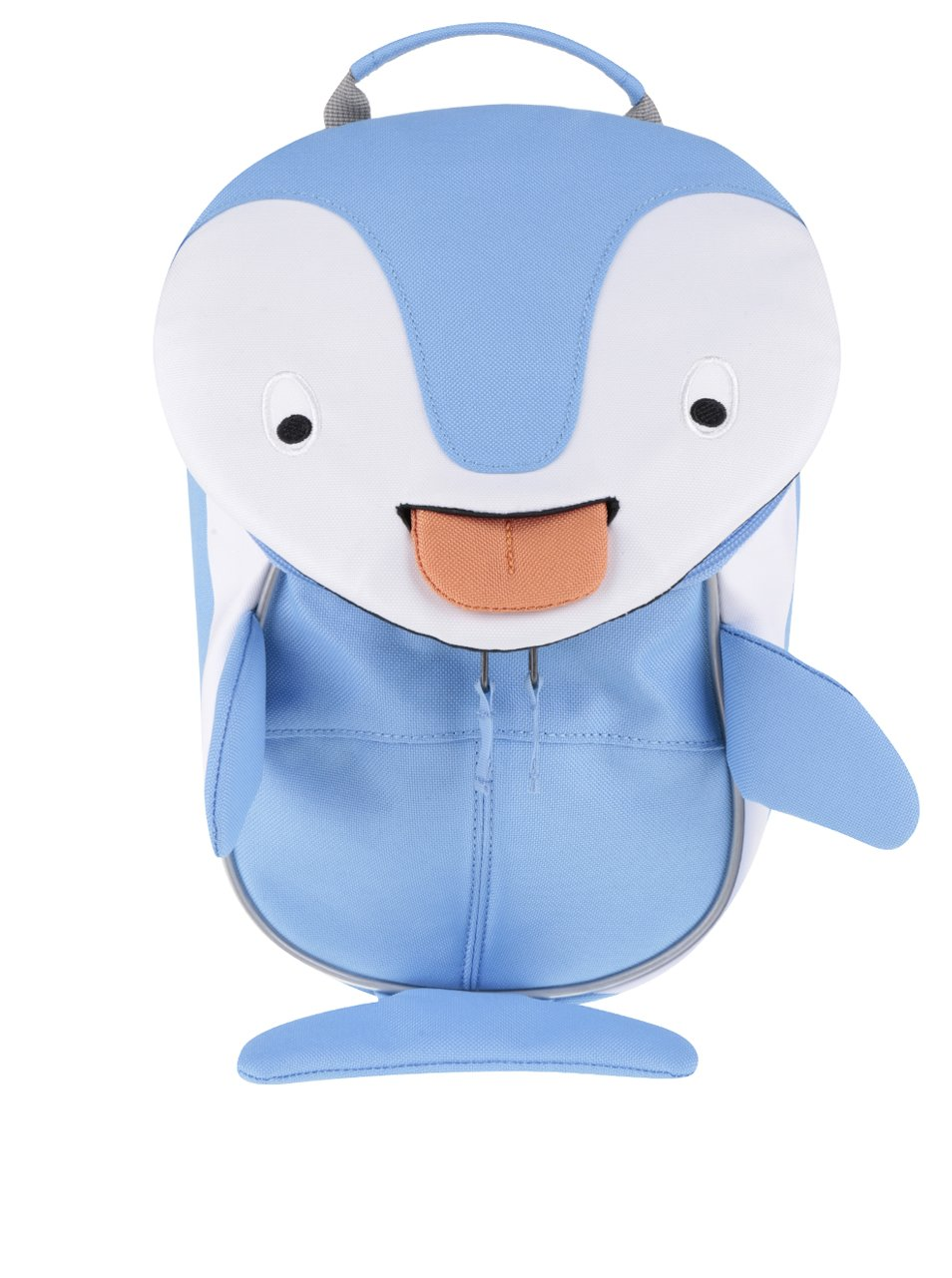 550aea48b1 Bielo-modrý batoh v tvare delfína Affenzahn