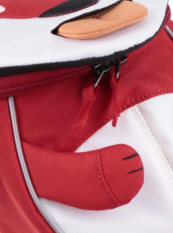 Červený batôžtek v tvare líšky Affenzahn