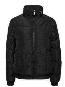 Čierna prešívaná bunda s kapucňou Dorothy Perkins
