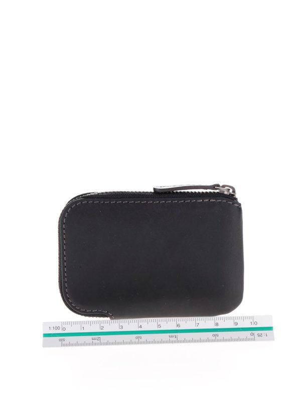 Čierne kožené puzdro na karty Bellroy Card Pocket