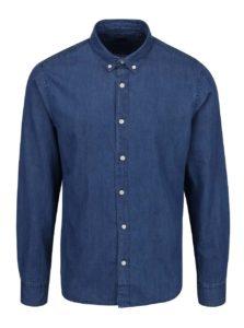 Modrá rifľová košeľa ONLY & SONS Carlo