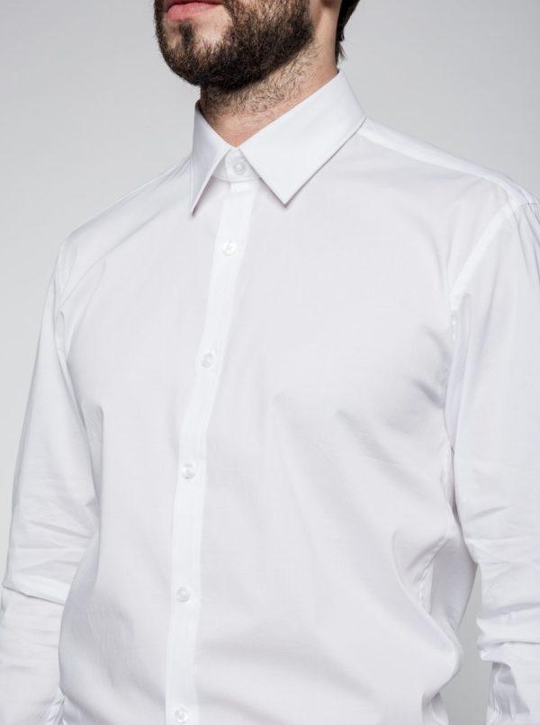 Biela formálna košeľa Lindbergh