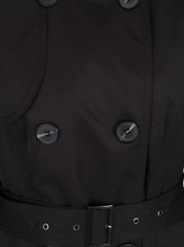 Čierny trenčkot VILA Three