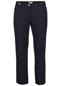 Tmavomodré pruhované nohavice Rich & Royal