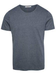 Sivomodré basic tričko Jack & Jones Hugo