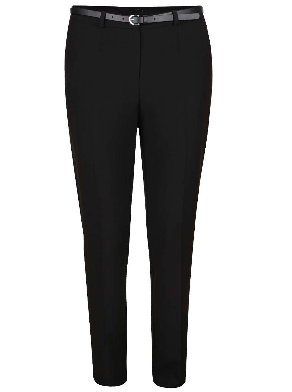 8880dde2473d Čierne dámske formálne nohavice s opaskom M Co