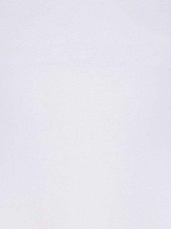 Biele dámske tielko so všitou podprsenkou M&Co