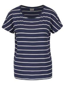 Tmavomodré pruhované tričko VERO MODA Charly