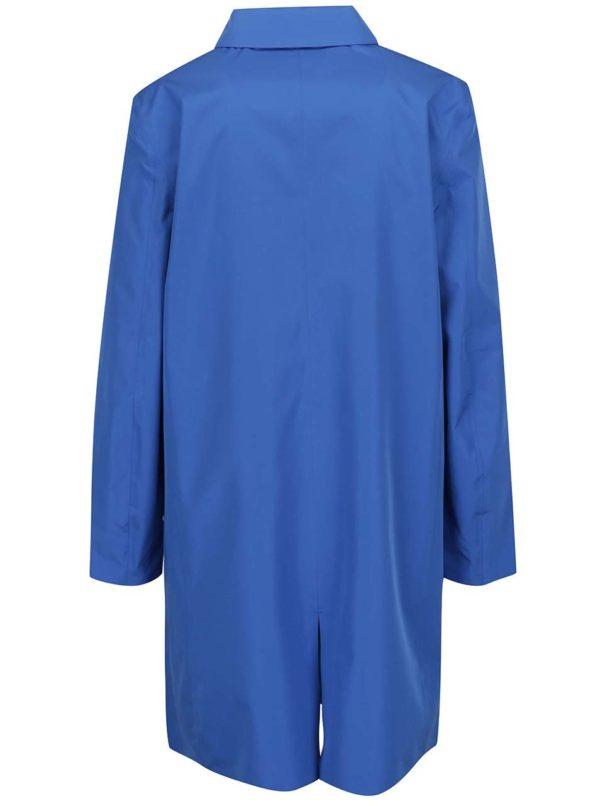 Modrý dámský nepremokavý ľahký kabát GANT All Weather