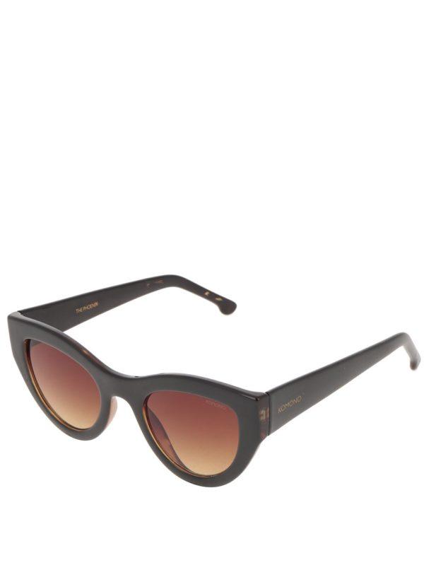 Čierne dámske slnečné okuliare Komono Phoenix