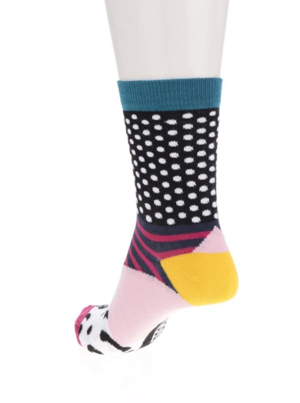 Súprava troch farebných dámskych ponožiek Oddsocks Adele