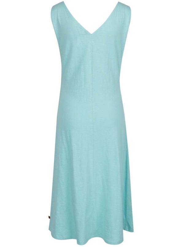 Svetlozelené šaty s véčkovým výstrihom Tranquillo Kiki