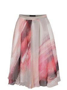 Červeno-sivá sukňa Pietro Filipi