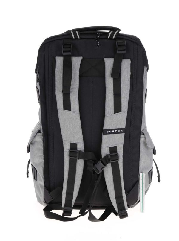 Čierno-sivý unisex batoh Burton Annex 28 l