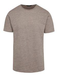 Béžové melírované tričko ONLY & SONS Albert