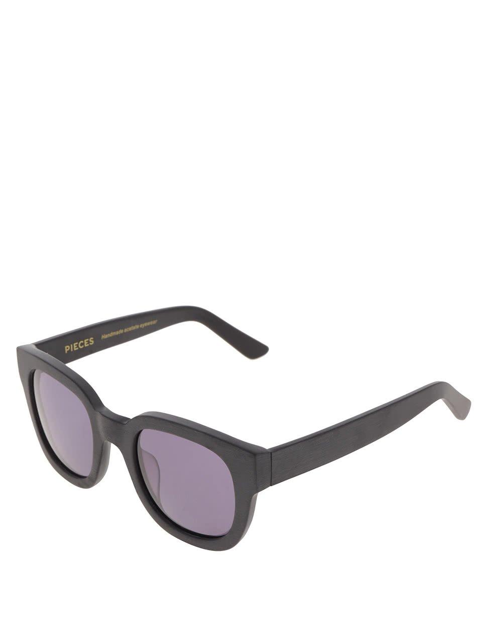 3f4a87dda Čierne slnečné okuliare Pieces Goyo | Moda.sk